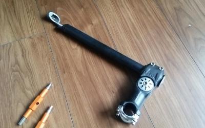 自転車の ステム 自転車 取り付け : カスタムのポイントステムア ...